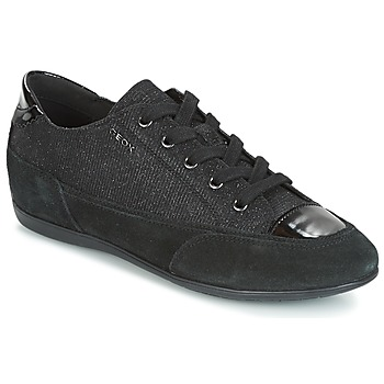 Παπούτσια Γυναίκα Χαμηλά Sneakers Geox D NEW MOENA Black