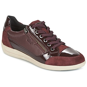 Παπούτσια Γυναίκα Χαμηλά Sneakers Geox D MYRIA BORDEAUX