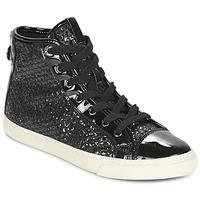 Παπούτσια Γυναίκα Ψηλά Sneakers Geox D NEW CLUB Black