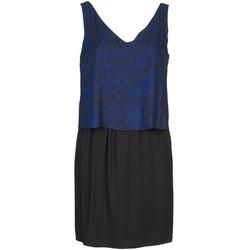 Υφασμάτινα Γυναίκα Κοντά Φορέματα Naf Naf LORRICE Black / Μπλέ