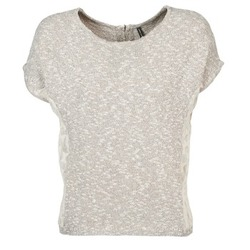 Υφασμάτινα Γυναίκα T-shirt με κοντά μανίκια Naf Naf MILLON Grey