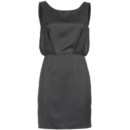 Υφασμάτινα Γυναίκα Κοντά Φορέματα Naf Naf LYCOPINE Black