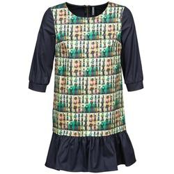 Υφασμάτινα Γυναίκα Κοντά Φορέματα Naf Naf ECAPS Black / Multicolore