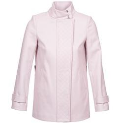 Υφασμάτινα Γυναίκα Παλτό Naf Naf ACORA ροζ