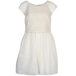 Υφασμάτινα Γυναίκα Κοντά Φορέματα Naf Naf LYMELL Άσπρο