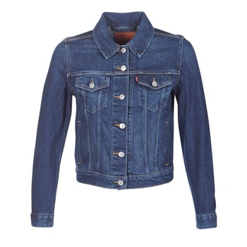 Υφασμάτινα Γυναίκα Τζιν Μπουφάν/Jacket  Levi's ORIGINAL TRUCKER Μπλέ / Jean