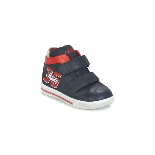 Παπούτσια Αγόρι Ψηλά Sneakers Mod'8 STARIUS MARINE / Red