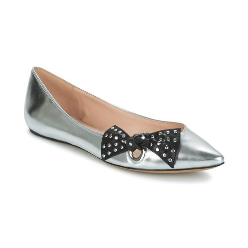Παπούτσια Γυναίκα Μπαλαρίνες Marc Jacobs RITA POINTY TOE Argenté