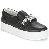 Παπούτσια Γυναίκα Slip on Marc Jacobs WRIGHT EMBELLISHED SNEAKER Black