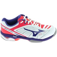 Παπούτσια Γυναίκα Χαμηλά Sneakers Mizuno Wave Exceed CC Blanc Άσπρο