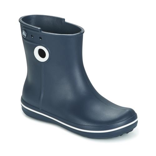 Παπούτσια Γυναίκα Μπότες βροχής Crocs JAUNT SHORTY BOOTS Marine