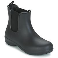 Παπούτσια Γυναίκα Μπότες Crocs CROCS FREESAIL CHELSEA Black