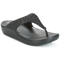 Παπούτσια Γυναίκα Σανδάλια / Πέδιλα Crocs SLOANE Black
