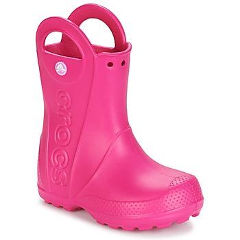 Παπούτσια Κορίτσι Μπότες βροχής Crocs HANDLE IT RAIN BOOT Ροζ