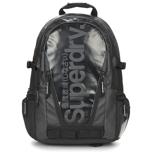 Τσάντες Σακίδια πλάτης Superdry MONO TARP BP Black