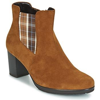 Παπούτσια Γυναίκα Μποτίνια Gabor KAPITU Camel