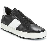 Παπούτσια Άνδρας Χαμηλά Sneakers Bikkembergs TRACK-ER 966 LEATHER Black / Άσπρο