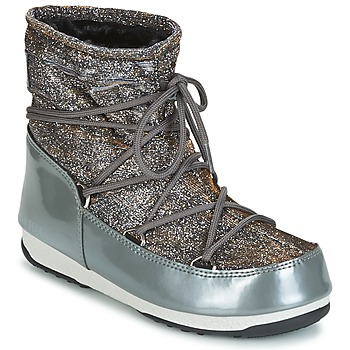 Παπούτσια Γυναίκα Snow boots Moon Boot MOON BOOT LOW LUREX Grey / Argenté
