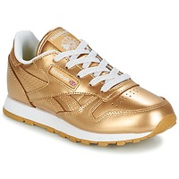 Παπούτσια Κορίτσι Χαμηλά Sneakers Reebok Classic CLASSIC LEATHER MET Gold