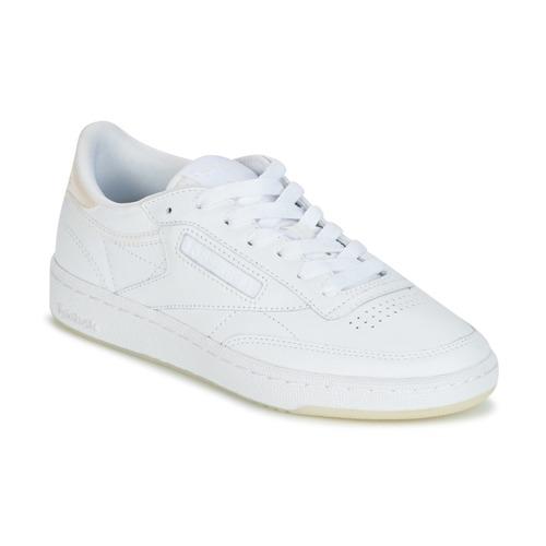 Παπούτσια Γυναίκα Χαμηλά Sneakers Reebok Classic CLUB C 85 L THR άσπρο