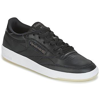 Παπούτσια Γυναίκα Χαμηλά Sneakers Reebok Classic CLUB C 85 LTHR Black