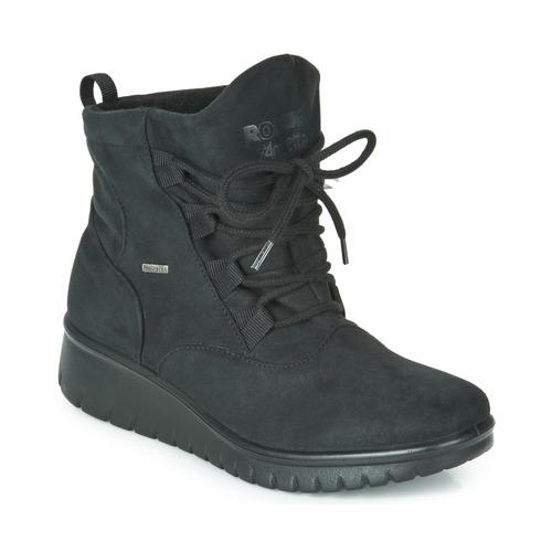 Παπούτσια Γυναίκα Μποτίνια Romika VARESE N08 Black