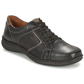 Παπούτσια Άνδρας Derby Josef Seibel ANVERS 49 Black