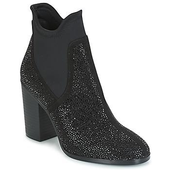 Παπούτσια Γυναίκα Μποτίνια Café Noir JORDE Black