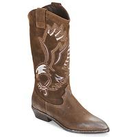 Παπούτσια Γυναίκα Μπότες για την πόλη Now SATURNA Brown