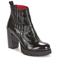 Παπούτσια Γυναίκα Μποτίνια Now NAPLAK Black
