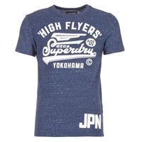 Υφασμάτινα Άνδρας T-shirt με κοντά μανίκια Superdry HIGH FLYERS REWORKED MARINE