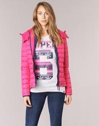 Υφασμάτινα Γυναίκα Μπουφάν Superdry FUJI BOX QUILTED Ροζ