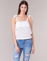 Υφασμάτινα Γυναίκα Μπλούζες Moony Mood GEMA Άσπρο