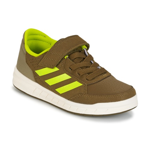 Παπούτσια Αγόρι Χαμηλά Sneakers adidas Performance ALTASPORT EL K Kaki / Yellow