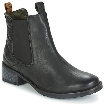 Παπούτσια Γυναίκα Μποτίνια Barbour LATIMER Μαυρο