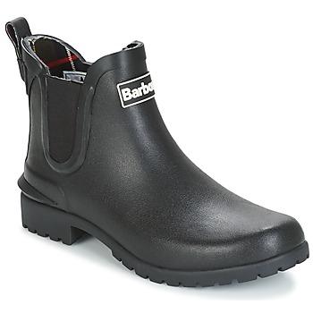 Παπούτσια Γυναίκα Μπότες βροχής Barbour WILTON Black