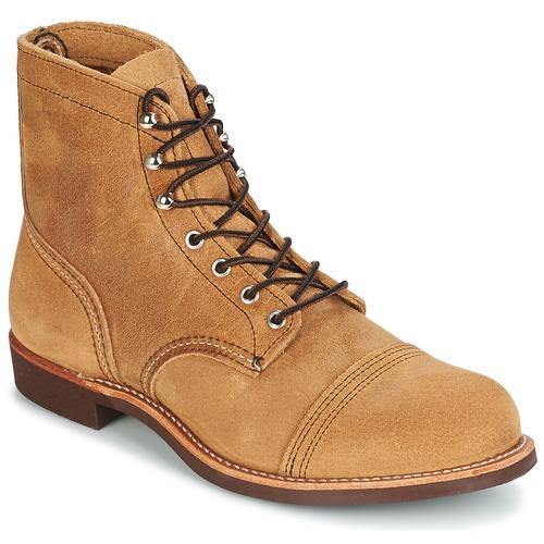 Παπούτσια Άνδρας Μπότες Red Wing IRON RANGER Camel