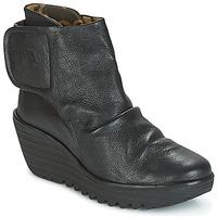 Παπούτσια Γυναίκα Μποτίνια Fly London YOMI Black