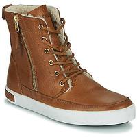 Παπούτσια Γυναίκα Ψηλά Sneakers Blackstone CW96 Brown