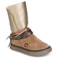 Παπούτσια Κορίτσι Μπότες για την πόλη Catimini ROUGEGEORGE TAUPE / Cuivré