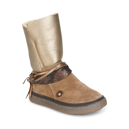 Παπούτσια Κορίτσι Μπότες για την πόλη Catimini ROUGEGEORGE Cts / ΓΚΡΙ-ΧΑΛΚΙΝΟ / Dch / Glen