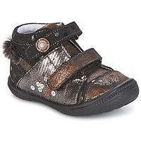 Παπούτσια Κορίτσι Μπότες Catimini ROSSIGNOL Black / Cuivré