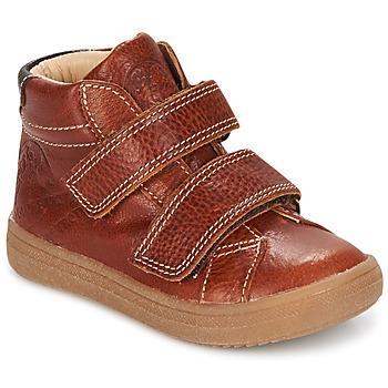 Παπούτσια Αγόρι Ψηλά Sneakers GBB NAZAIRE Fauve