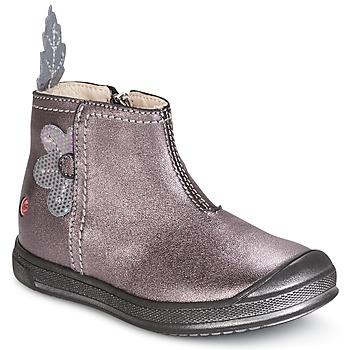 Παπούτσια Κορίτσι Μπότες GBB ROMANE Ξύλο  /  de / Ροζ