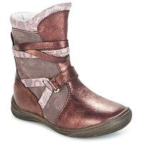 Παπούτσια Κορίτσι Μπότες GBB ROSANA Ροζ / Bordeaux