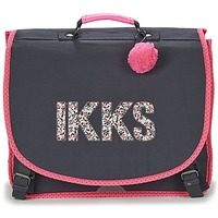 Τσάντες Κορίτσι Σάκα Ikks ROCK CARTABLE 41CM Black / ροζ