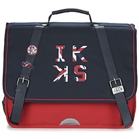 Τσάντες Αγόρι Σάκα Ikks UNION JACK CARTABLE 38CM Marine / Red