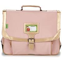 Τσάντες Κορίτσι Σάκα Tann's GLITTER CARTABLE 38CM ροζ