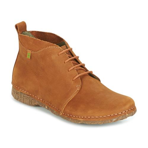 Παπούτσια Γυναίκα Μπότες El Naturalista ANGKOR Camel