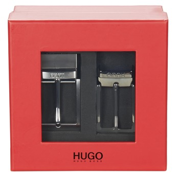 Αξεσουάρ Άνδρας Ζώνες HUGO-Hugo Boss GIBILSY Black